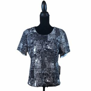 Women's Vince Camuto Abstract Print Blouse
